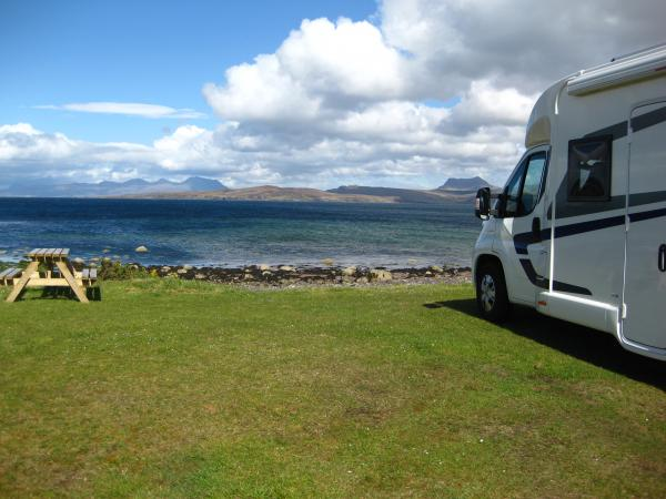 A Family Holiday in Scotland - The Lewis Motorhome