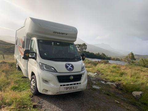 Visiting Scotland's Highland Games with a motorhome