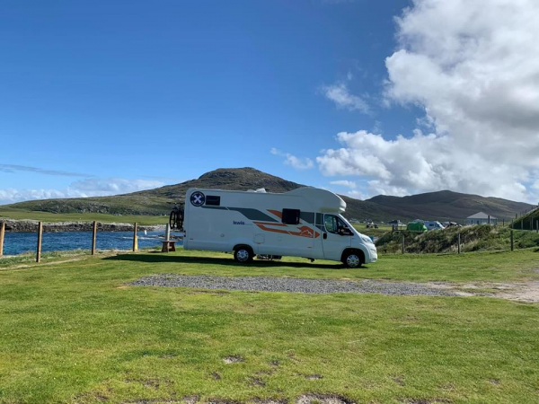 Couples Retreat touring Scotland in a motorhome