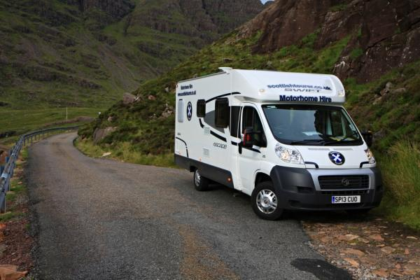 Get healthy in a hire motorhome in Scotland