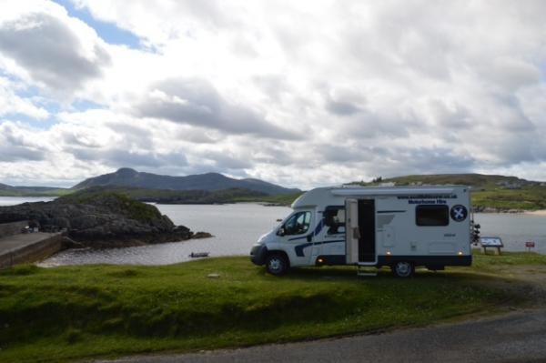 Wild Camping In A Motorhome