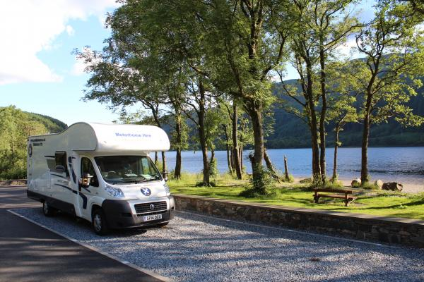 Staycation with a motorhome