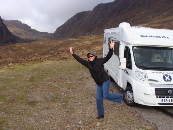 Travelling by motorhome