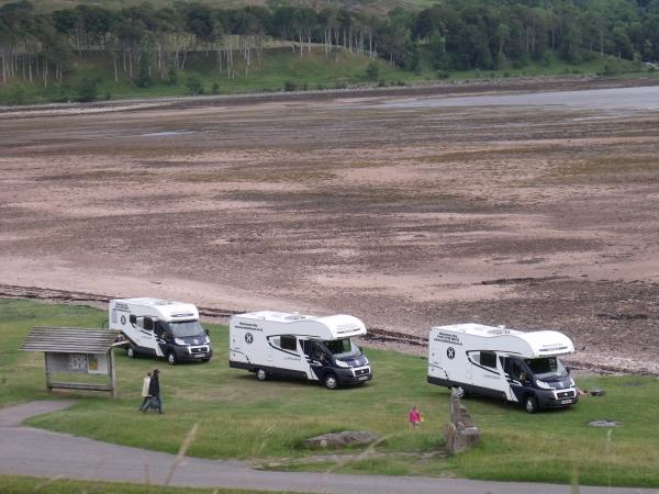 Scottish Islands by motorhome