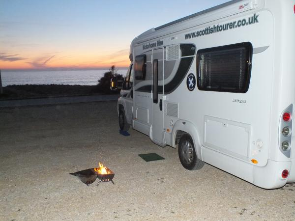 Get Away in a Hire Motorhome for the Winter