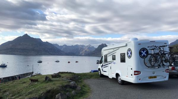 Visiting the Isle of Skye with a Motorhome