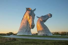 The Kelpies by Falkirk