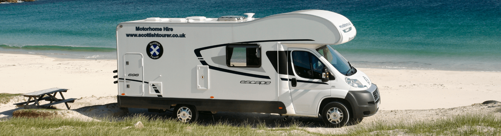 Motorhome Beach Tour - Scottish Tourer