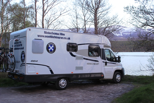 Parked up by the loch