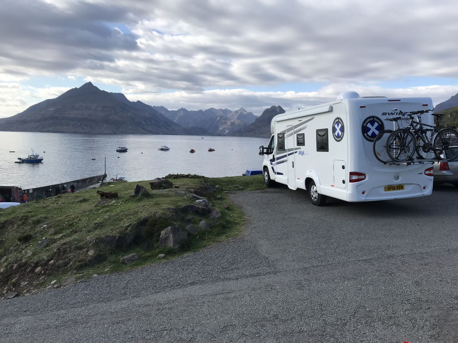 Scottish Tourer Motorhome Hire Parked Up