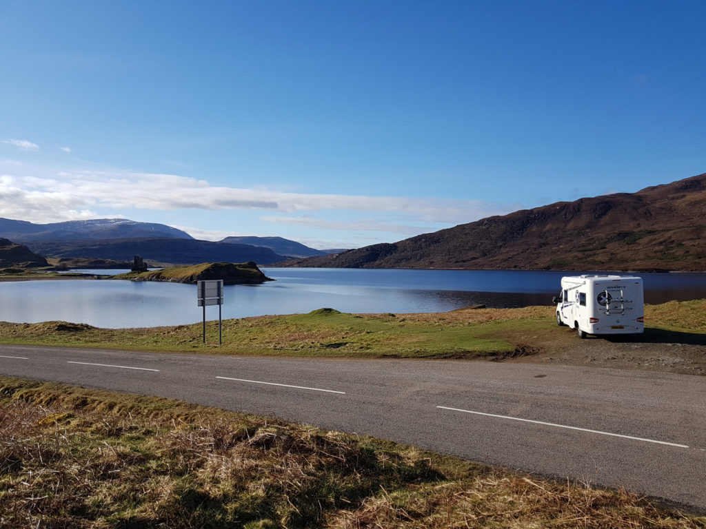 Scottish tourer motorhome hire