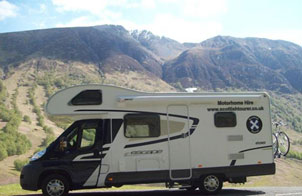 Outer Hebrides Motorhome Route