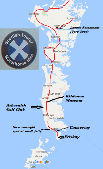 Scottish Tourer Map