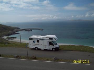 Scottish tourer motorhome