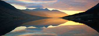 Harry potter tour at Loch Etive with Scottish Tourer Motorohome Hire