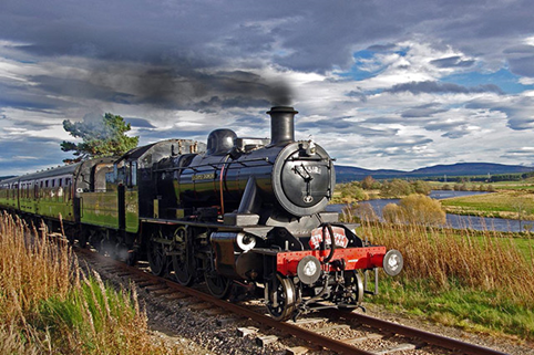 Strathspey steam train