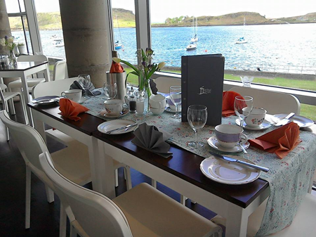 Temple Restaurant in Oban