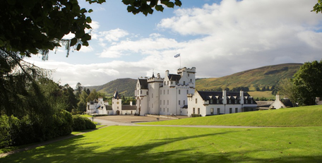 Campervan Rental Scotland, Castle Tour