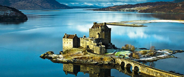 Campervan Rental Scotland, Castle Tours