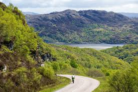 Cycling around Scotland with Scottish Tourer Motorhome Hire