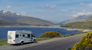 Scottish tourer cycling Tour
