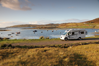 Fising in Scotland with scottish Tourer Motorhome hire