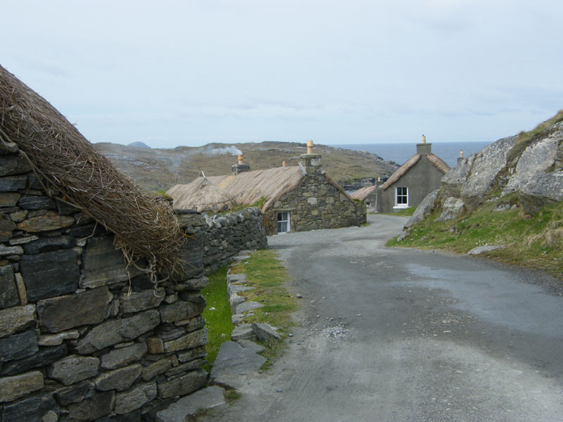 Blackhouses on the Island of Lewis