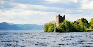 Loch Ness and Urquart Castle